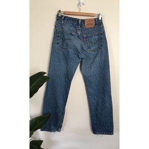 Levi/'s 501 CT Women/'s Tapered leg Ink Blot Dark Blue Button Fly Jean 17804-0032